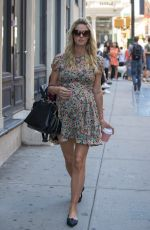 Pregnant NICKY HILTON Out in New York 06/15/2016