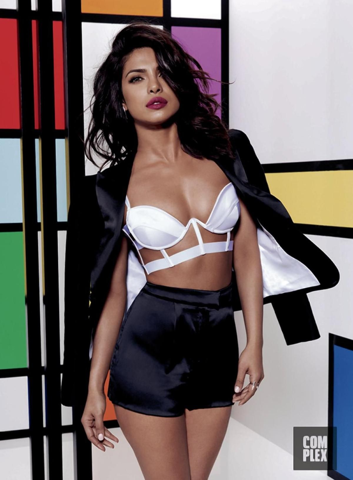 PRIYANKA CHOPRA in Complex Magazine, May 2016 Issue