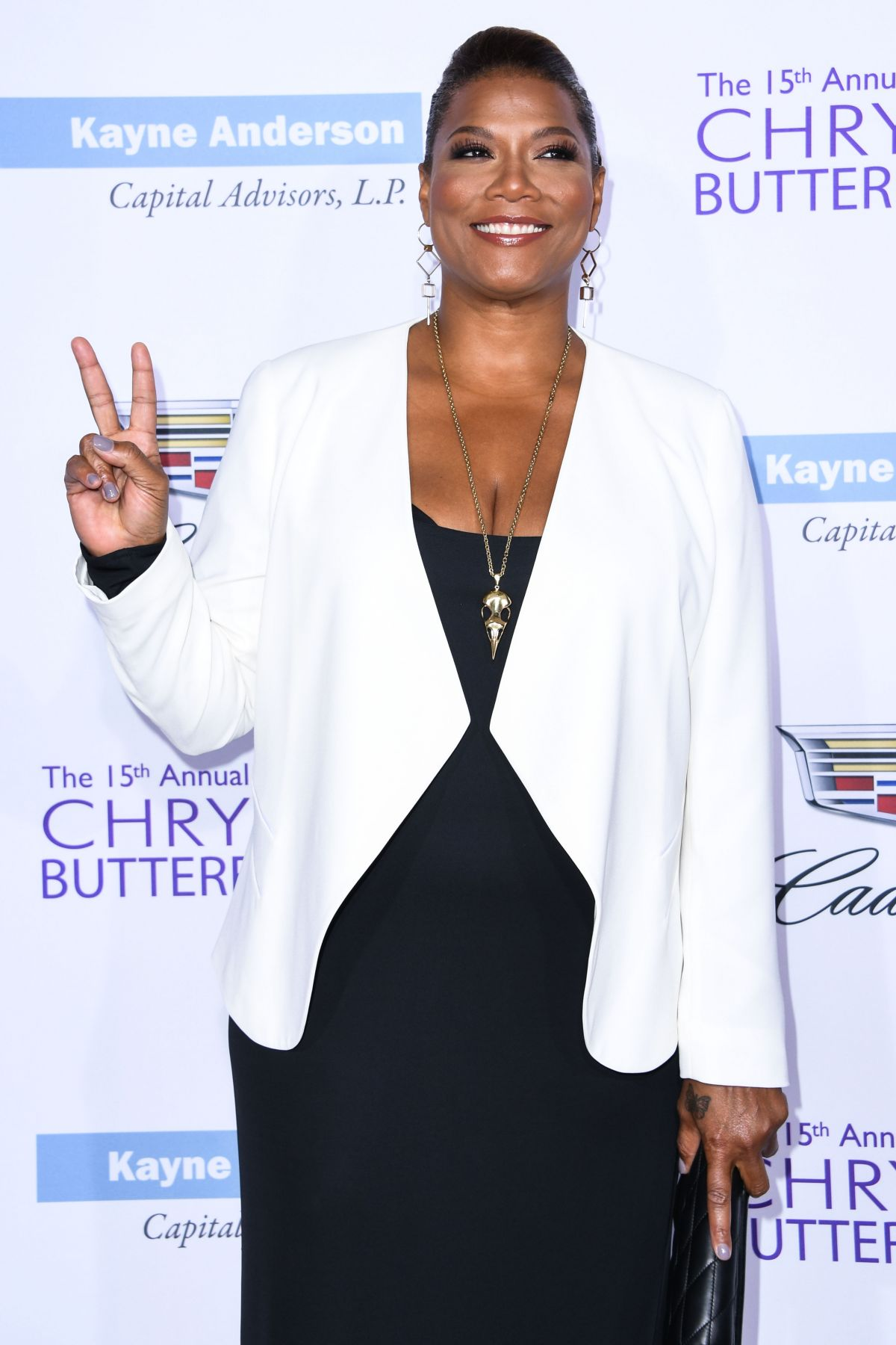 QUEEN LATIFAH at 15th Annual Chrysalis Butterfly Ball in Brentwood 06/11/2016