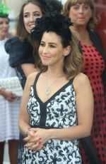 RACHEL STEVENS at Irish Derby at the Curragh Race-course in Kildare 06/25/2016