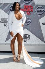 REMY MA at 2016 BET Awards in Los Angeles 06/26/2016