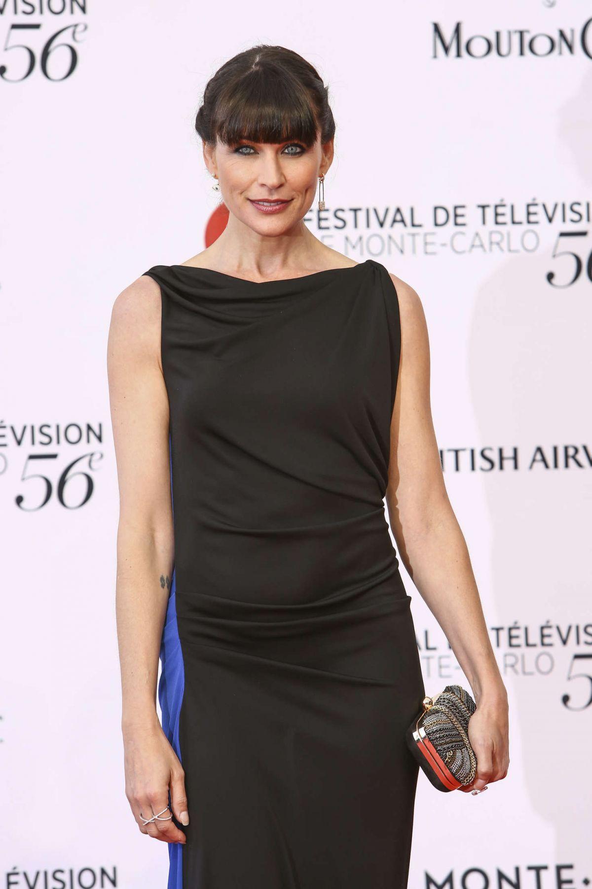 RENA SOFER at 56th Monte-Carlo Television Festival in Monaco 06/12/2016