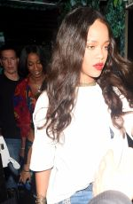 RIHANNA Night Out in London 06/272016