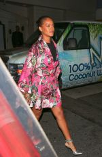 RIHANNA Out and About in Santa Monica 06/09/2016