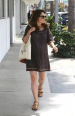 ROBIN TUNNEY Out for Lunch in Beverly Hills 06/10/2016
