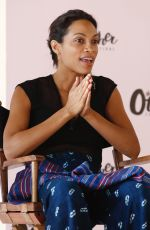 ROSARIO DAWSON at Other Festival at Spring Studios in New York 06/11/2016