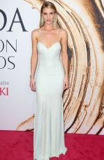 ROSIE HUNTINGTON-WHITELEY at CFDA Fashion Awards in New York 06/06/2016