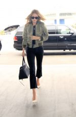 ROSIE HUNTINGTON-WHITELEY at LAX Airport in Los Angeles 06/16/2016