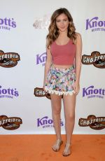 RYAN NEWMAN at Ghost Rider Rides Again Event at Knotts Berry Farm in Buena Park 06/04/2016