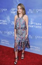 SAMANTHA ISLER at 'Captain Fantastic' Premiere in Los Angeles 06/29/2016