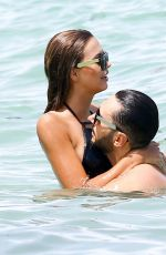 SANDRA KUBICKA in Swiumsuit at the Beach in Miami 06/26/2016