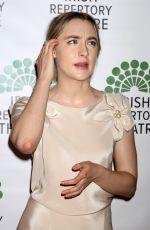 SAOIRSE RONAN at Irish Repertory Theatre Gala Benefit in New York 06/13/2016