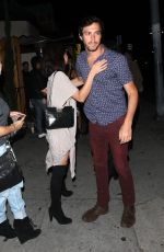 SARAH HYLAND Leaves Nice Guy in West Hollywood 06/24/2016