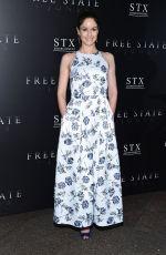SARAH WAYNE CALLIES at 'Free State of Jones' Premiere in Los Angeles 06/21/2016