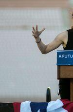 SHAILENE WOODLEY at Bernie Sanders