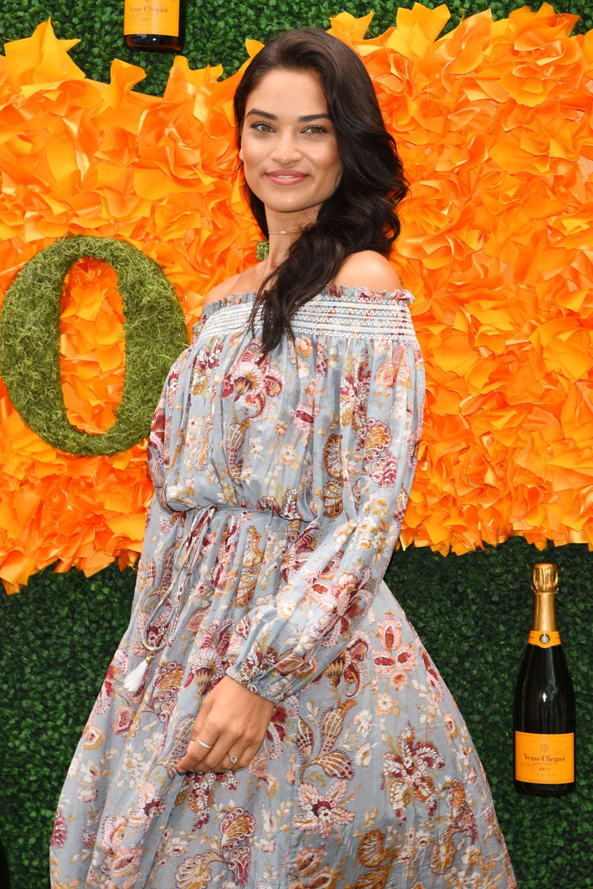 SHANINA SHAIK at 9th Annual Veuve Clicquot Polo Classic in Jersey City 06/04/2016