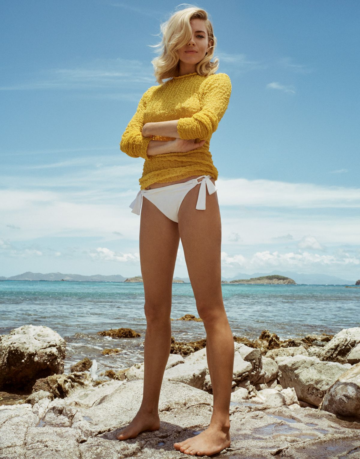 SIENNA MILLER in Porter Magazine, Summer Escape 2016 Issue