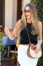 SOFIA VERGARA Out on Melrose Avenue in West Hollywood 06/03/2016