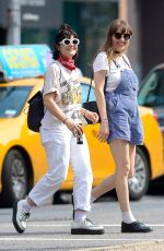 SOKO Out and About in New York 06/04/2016