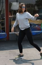 SOPHIA BUSH Out and About in West Hollywood 06/17/2016
