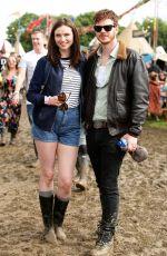SOPHIE ELLIS-BEXTOR at Glastonbury Festival at Worthy Farm in Glastonbury 06/25/2016