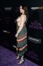 SOPHIE SIMMONS at 'The Neon Demon' Premiere in Los Angeles 06/14/2016
