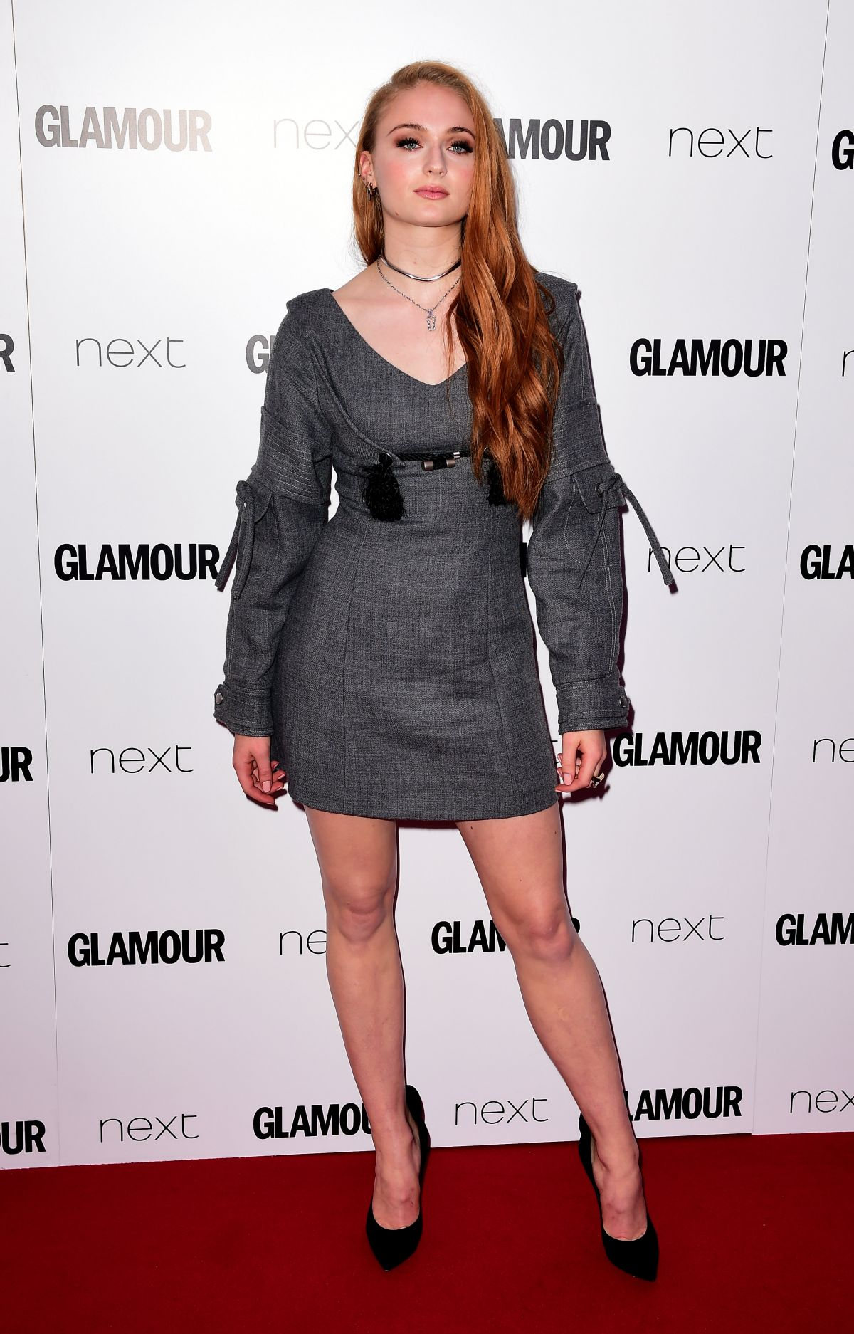 SOPHIE TURNER at Glamour Women of the Year Awards 2016 in London 06/07/2016