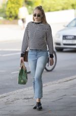 SOPHIE TURNER Out and About in North London 06/09/2016