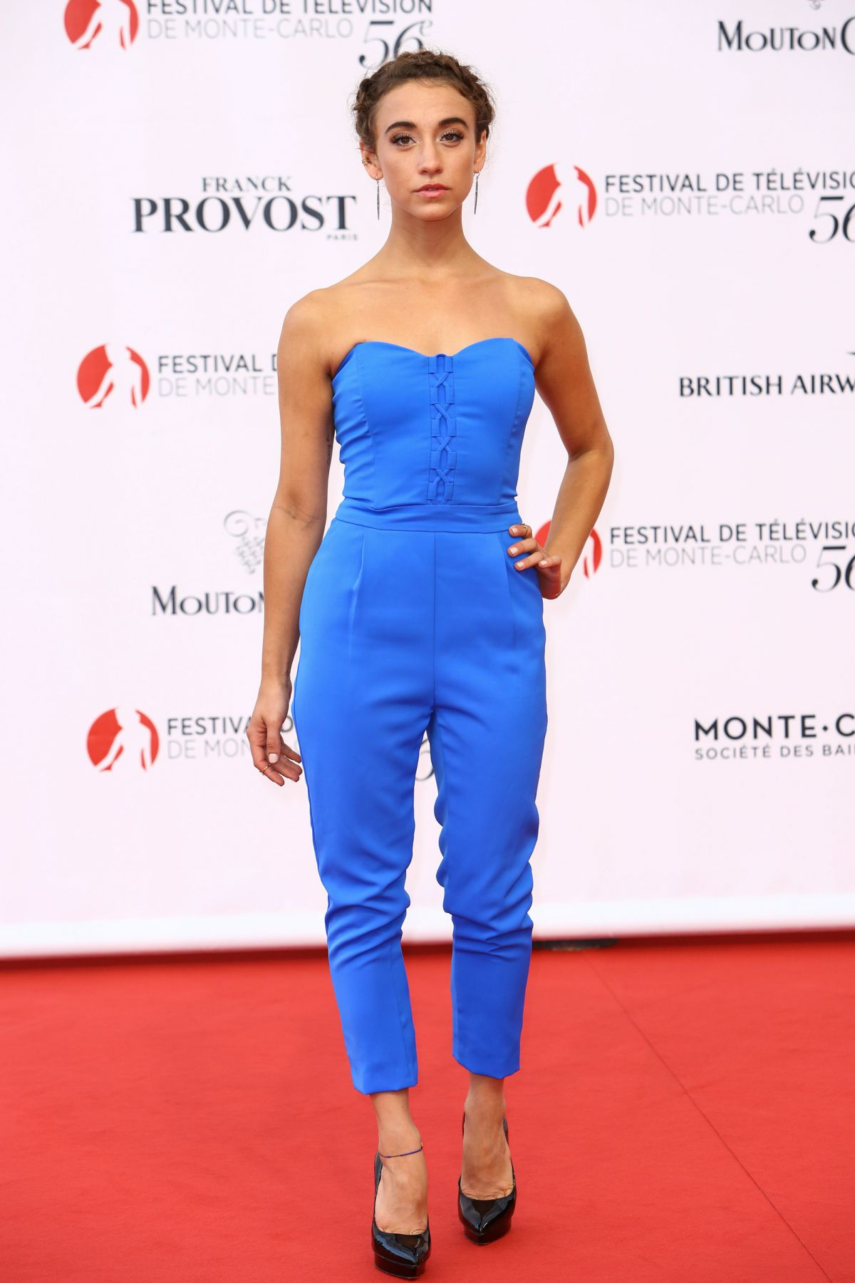 STELLA MAEVE at 56th Monte-Carlo Television Festival in Monaco 06/12/2016