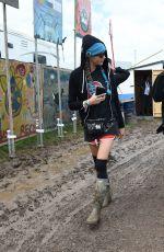 SUKI WATERHOUSE, LILY DONALDSON and CARA DLEVINGNE at 2016 Glastonbury Festival in Glastonbury 06/25/2016