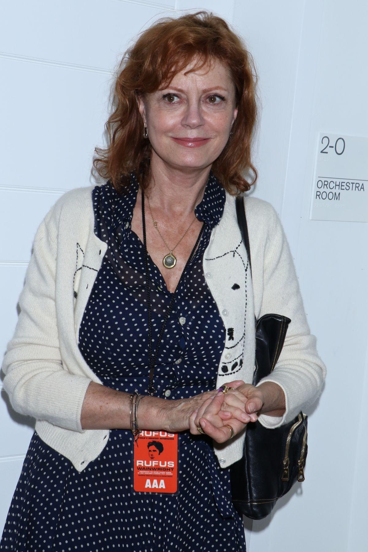 SUSAN SARADON at 'Rufus Does Judy' Opening Night in New York 06/17/2016