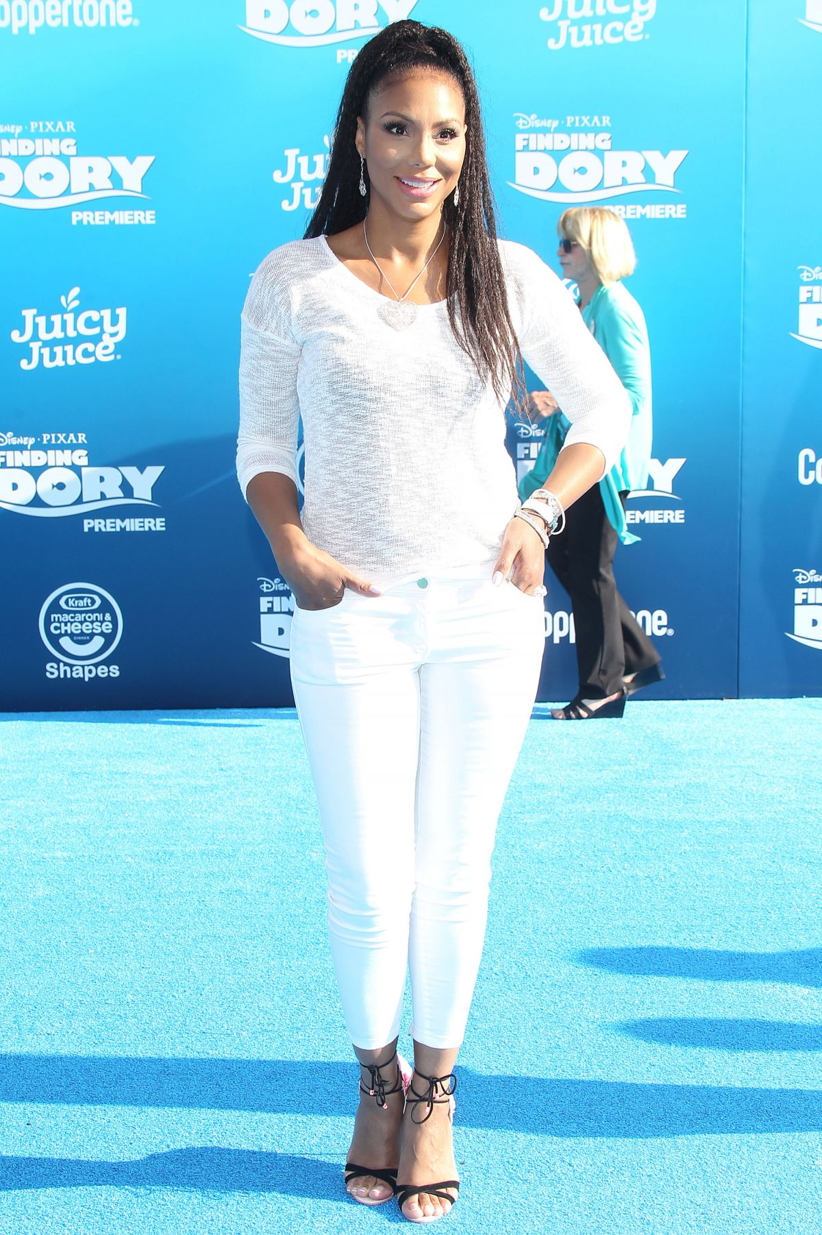 """TAMAR BRAXTON at """"Finding Dory' Premiere in Los Angeles 06/08/2016"""