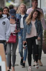 TAYLOR HILL Out in Los Angeles 06/11/2016
