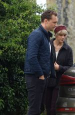 TAYLOR SWIFT and Tom Hiddleston Out in Suffolk 06/26/2016