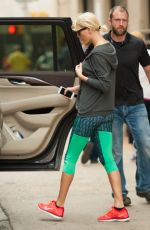 TAYLOR SWIFT in Leggings Out in New York 06/11/2016