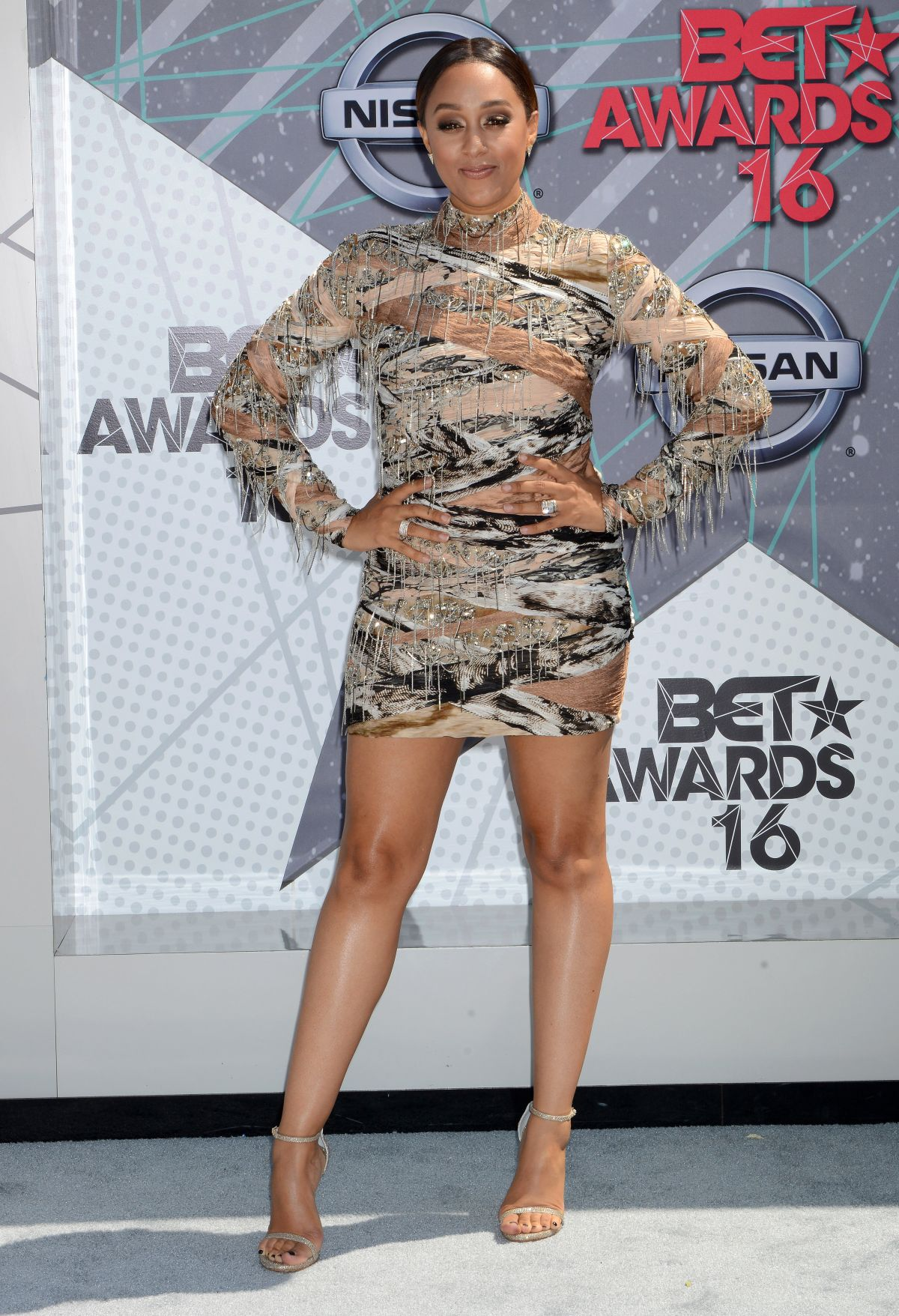 TIA MOWRY at 2016 BET Awards in Los Angeles 06/26/2016
