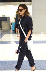 VICTORIA BECKHAM at JFK Airport in New York 06/22/2016