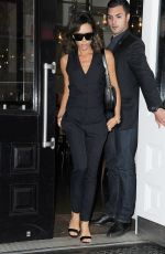 VICTORIA BECKHAM Leaves Her Hotel in New York 06/24/2016