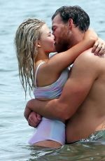 WITNEY CARSON in Bikini at a Beach in Hawaii 06/04/2016
