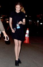 ZOEY DEUTCH Arrives at Hillary Clinton's Fundraiser in Los Angeles 06/06/2016