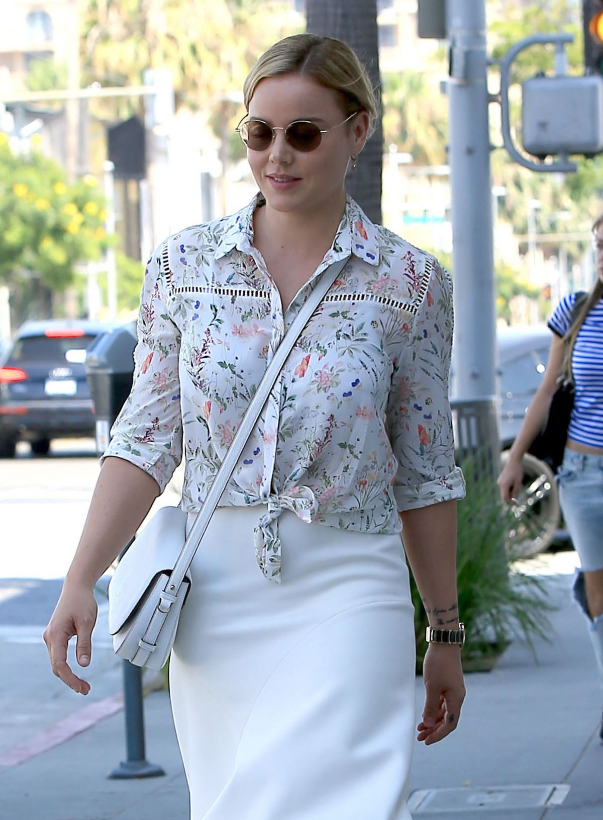 ABBIE CORNISH Out and About in Los Angeles 06/30/2016