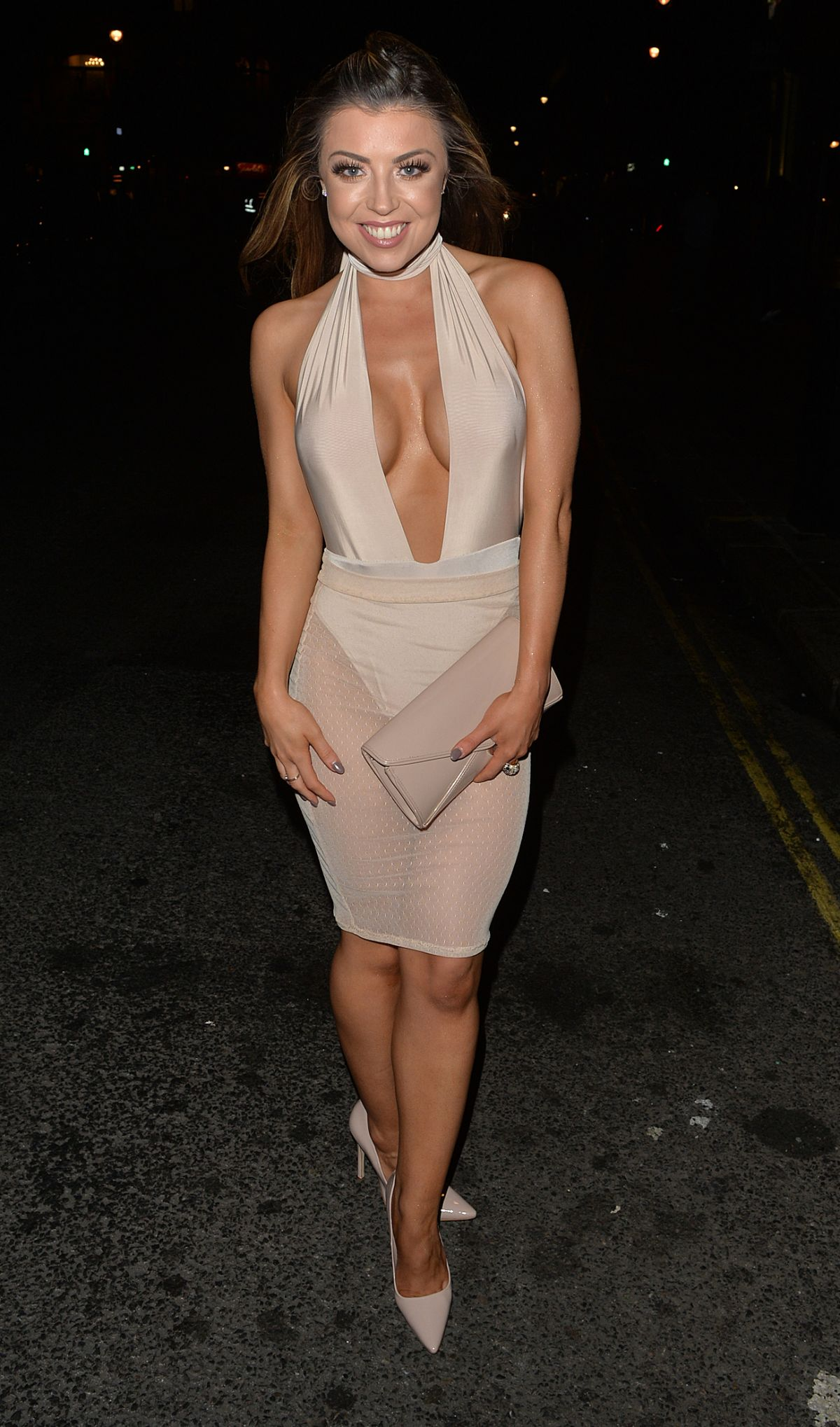 ABIGAIL CLARKE Celebrates Her 25th Birthday at Cafe De Paris in London 07/09/2016