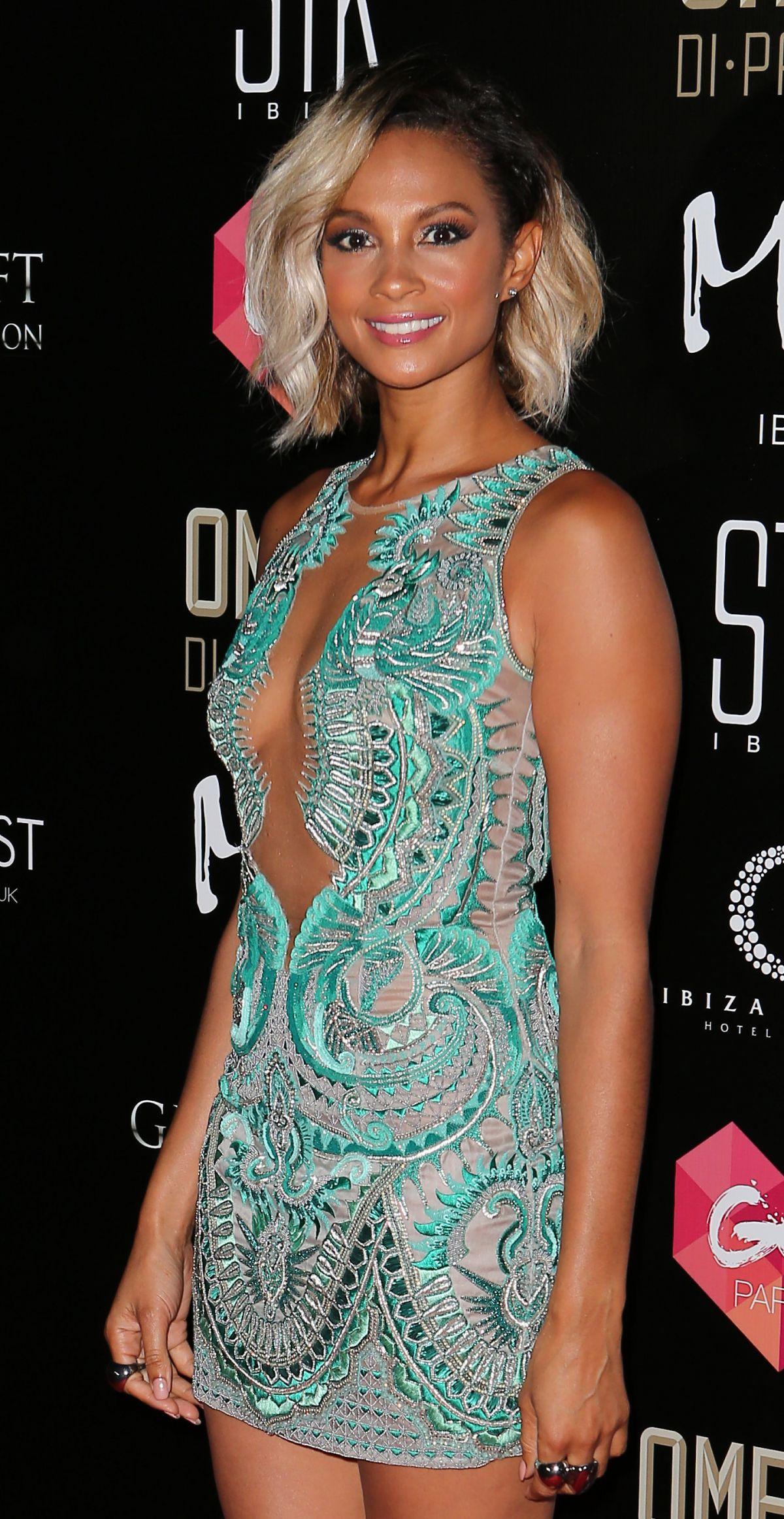 ALESHA DIXON at Ibiza Global Gift Party 07/19/2016