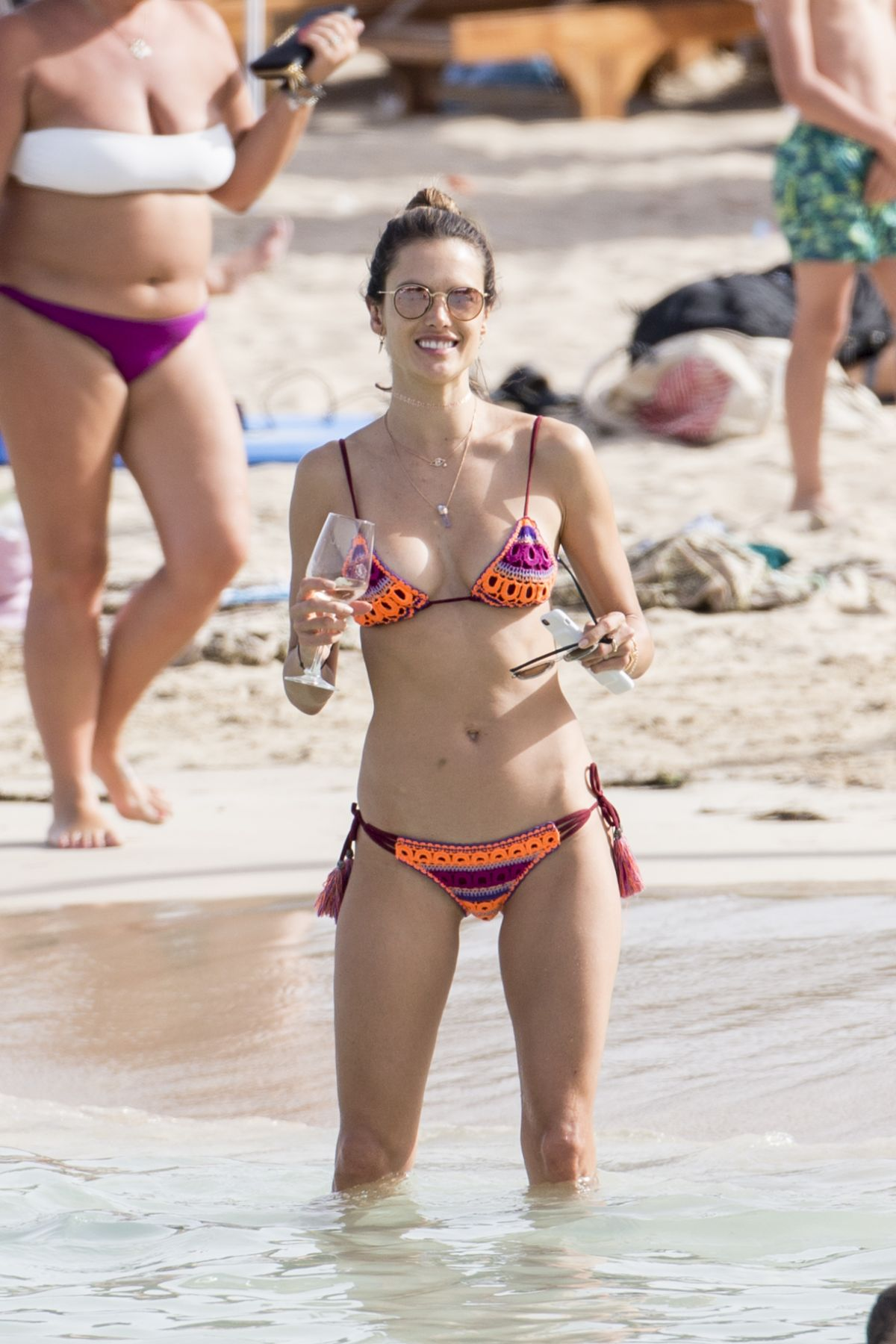 On Alessandra Beach In Bikini Ambrosio 07042016 The Ibiza ZwkXTOPiu