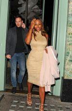 ALEXANDRA BURKE Leaves Sexy Fish Restaurant in London 06/30/2016