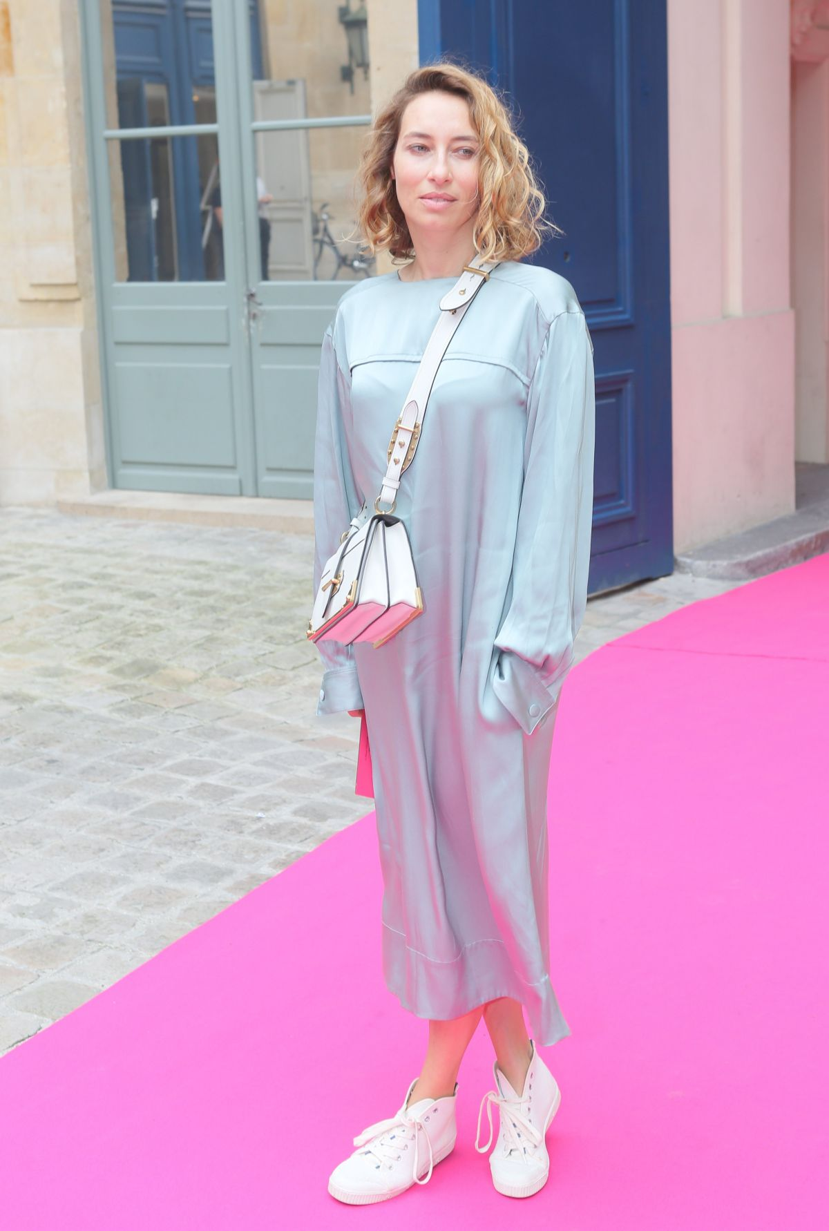 ALEXANDRA GOLOVANOFF at Schiaparelli Haute-couture Fashion Show in Paris 07/04/2016
