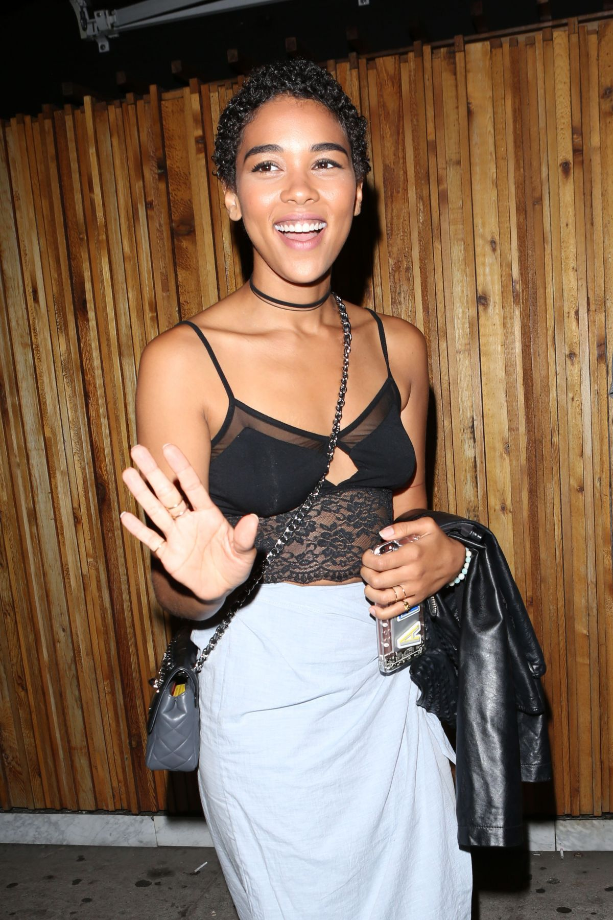 ALEXANDRA SHIPP at Nice Guy in West Hollywood 07/01/2016