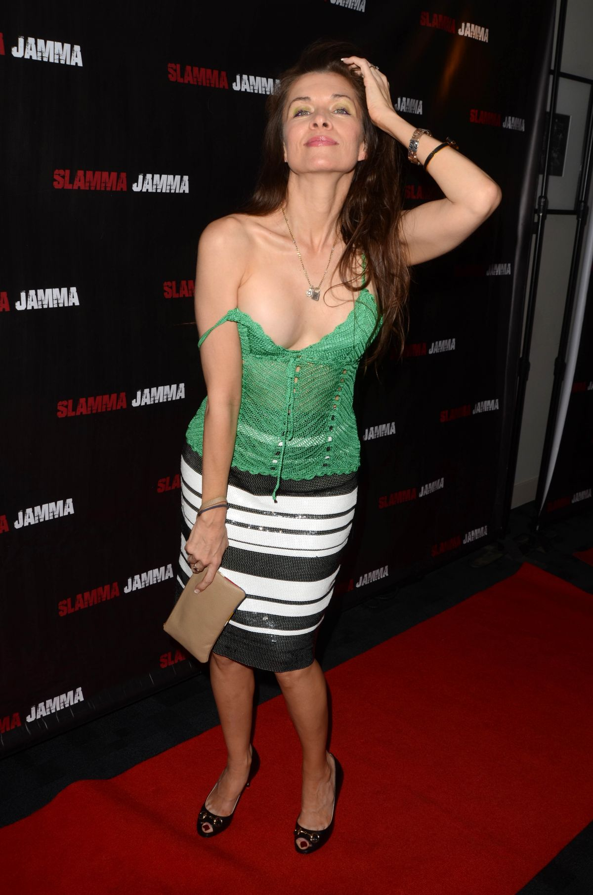 Alicia Arden At Slamma Jamma Screening In Los Angeles 06