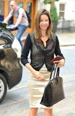ALICIA DOUVALL Arrives at ITV Studios in London 07/28/2016