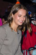 ALICIA VIKANDER at Channel 7 Studios in Sydney 07/05/2016